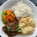 Beef Rendang with Basmati Rice - $25++