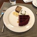 by far the best hotel buffet breakfast i've had in singapore: Edge.