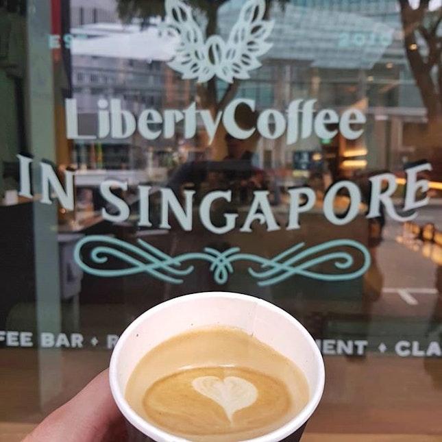 Have you heard of Liberty coffee?