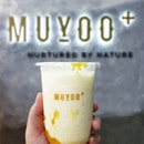 Dirty Mango, Messy appearance, but a palatable drink to satisfy your sweet tooth & quench your thirst😋😋 ~ You get them now at both @muyoosg (Raffles City)& Muyoosg+ (Bedok Mall).