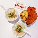 Craving for @mongasingapore Chicken & @ahchiangporridge Congee!!
