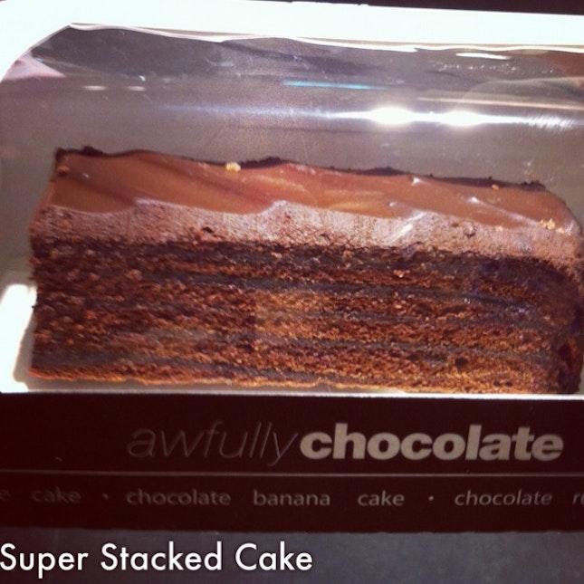 Super Stacked Choco Cake