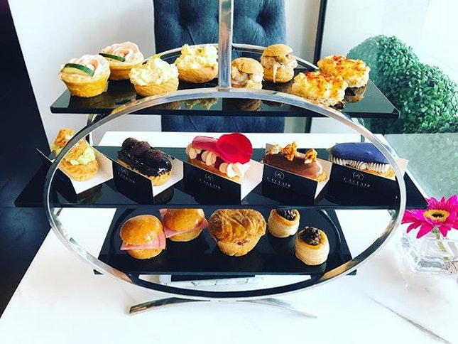 #leclairbysarahmichelle #hightea #eclair #sweetnsavoury #sgcafe #burpple  High Tea Degustation  I haven't had high tea in quite a while and this visit to L'éclair by Sarah Michelle made me wonder why I have not been having more of such indulgences.