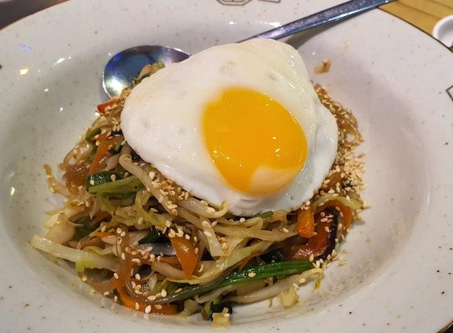 Japchae With Egg
