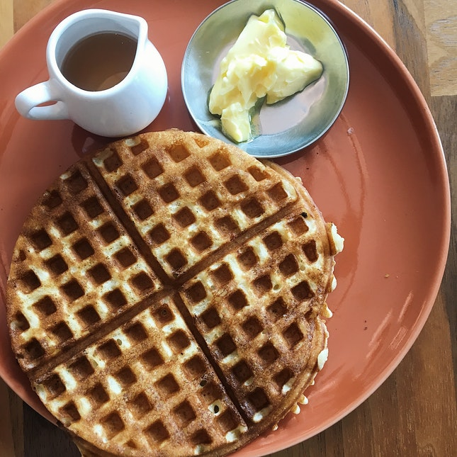 Belgian Waffle (RM15)