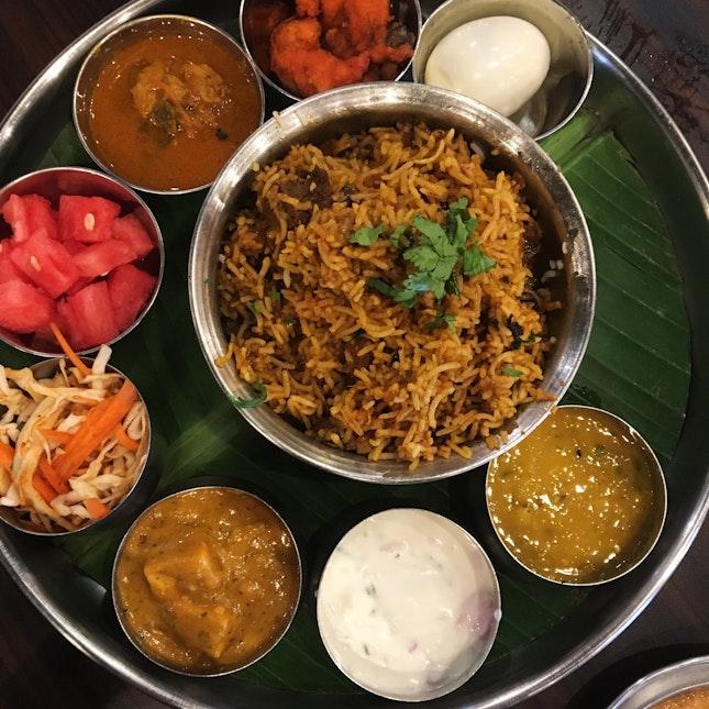 Briyani Special Set Lunch (RM20++)