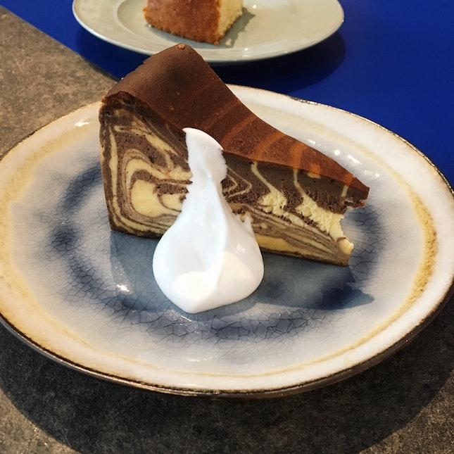 Marble Burnt Cheesecake (RM16)