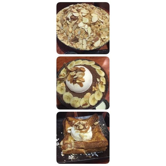 Injeolmi & Choco-banana Bingsu, Honey Butter Toast