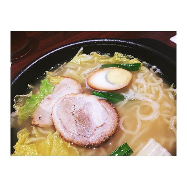 Clear broth 🍜  #Chasuramen #belleyeats #burpple