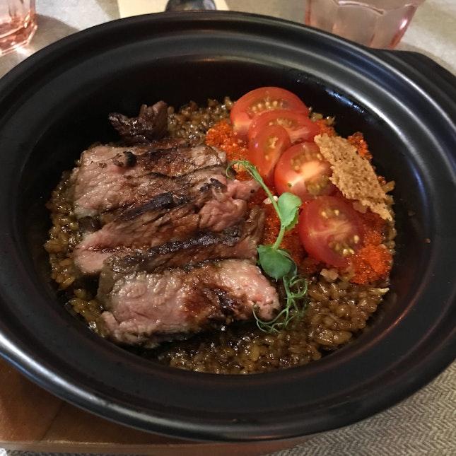 Wagyu beef Claypot