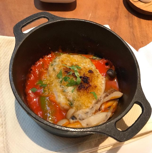 Scallop Soup, Fusion Style
