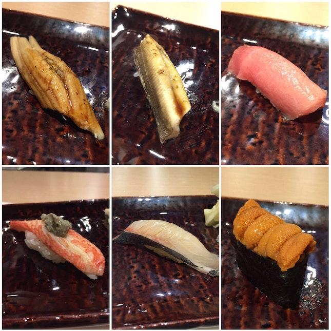Omakase lunch - Sushi!