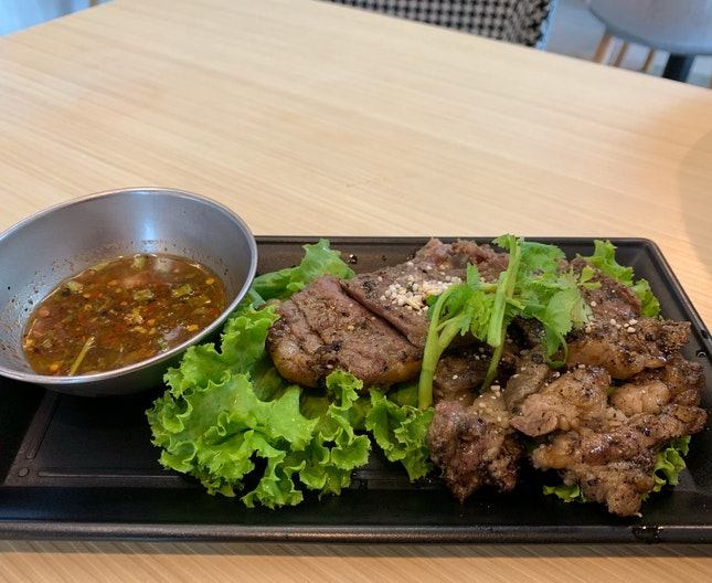 Grilled Beef Strips