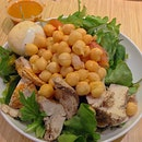 Salad from Toss & Turn (& then slim down?)