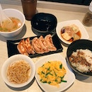gyoza bonanza lunch set @ $13.90++