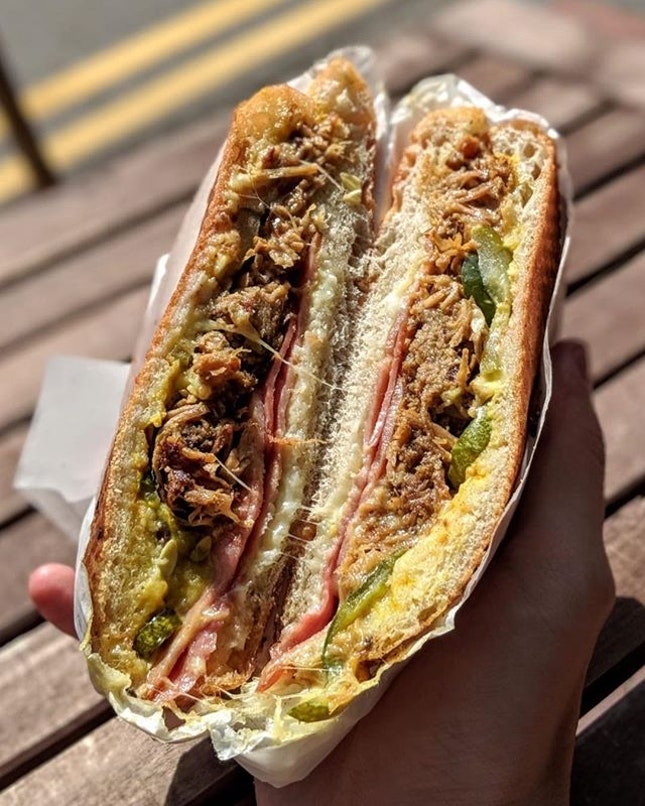[Telok Ayer] I've said it before and I'll say it again: Their Cubano ($16) is a damn tasty sandwich.