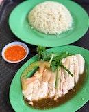 Hainanese Boneless Chicken Rice (Golden Mile Food Centre)