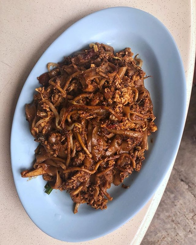 [Sengkang] This Char Kway Teow ($4) was a famous stall in the past and is still worth a try.