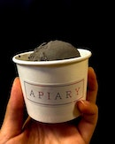 Got my hands on @apiary.sg Black Sesame ice cream ($3.80+$0.70) a few days back and boyyyy this was impressive!!!
