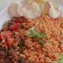A close up shot of my favourite dish at @tenderfreshsg - Padprik Minced Beef Rice ($7.90)!