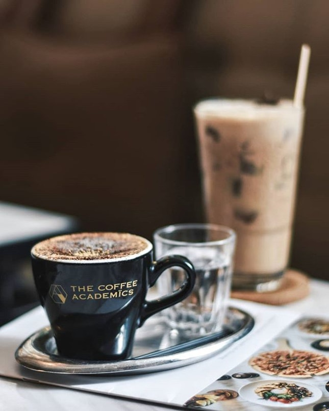 Life isn't complete without coffee and scrumptious food.