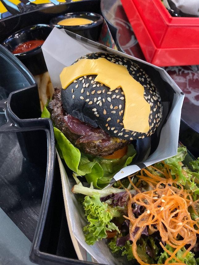 Dark Night Burger ($28)