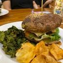 Portobello Burger ($20)