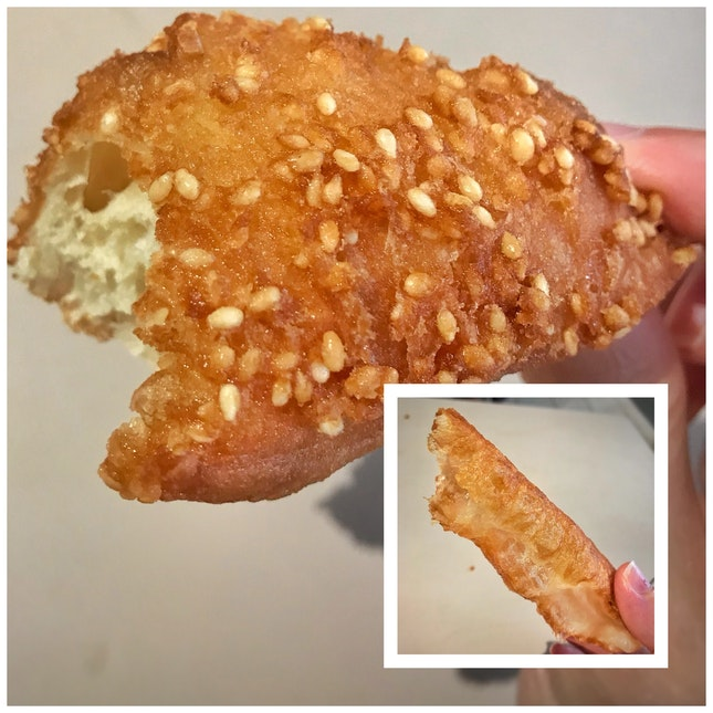 Review on Butterfly Fritter ($0.80) & You Tiao.