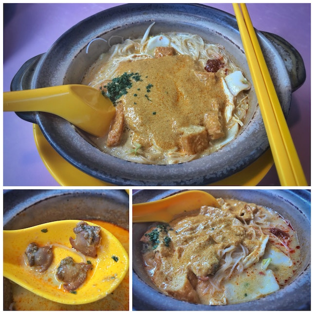 Review on Claypot Laksa