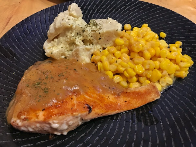 Review on Grilled Salmon Fillet ($16.80)
