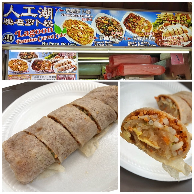 Review on Popiah From Stall 40