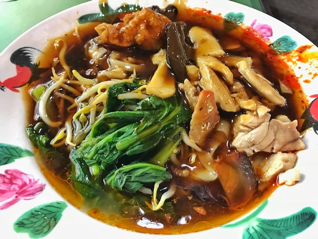 Review on Ipoh Hor Fun ($3.50) From Stall 01-19, Wing Kee