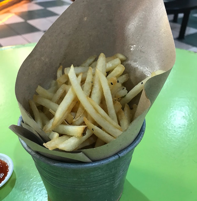 Review on Truffle Fries ($8) From Wholly Crab