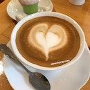 Organic Hot latte, 70baht