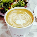 ☕: Enjoy the weekends over a nice cup of coffee @parisbaguette_sg [3.5/5 👅] .