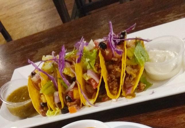 Fish Tikka Tacos