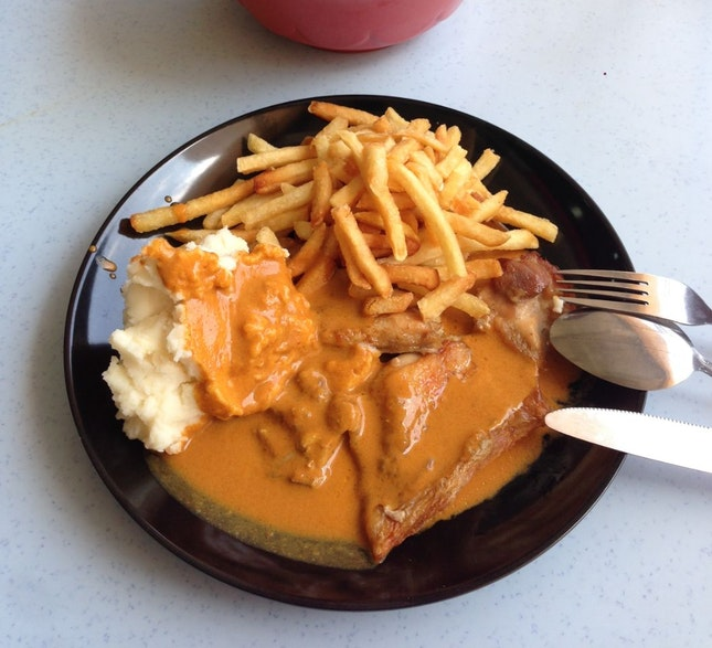 Chicken Chop With Curry