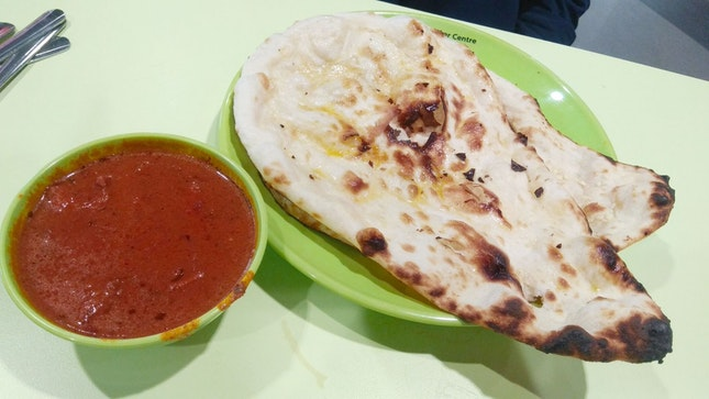 Naan & Butter Chicken