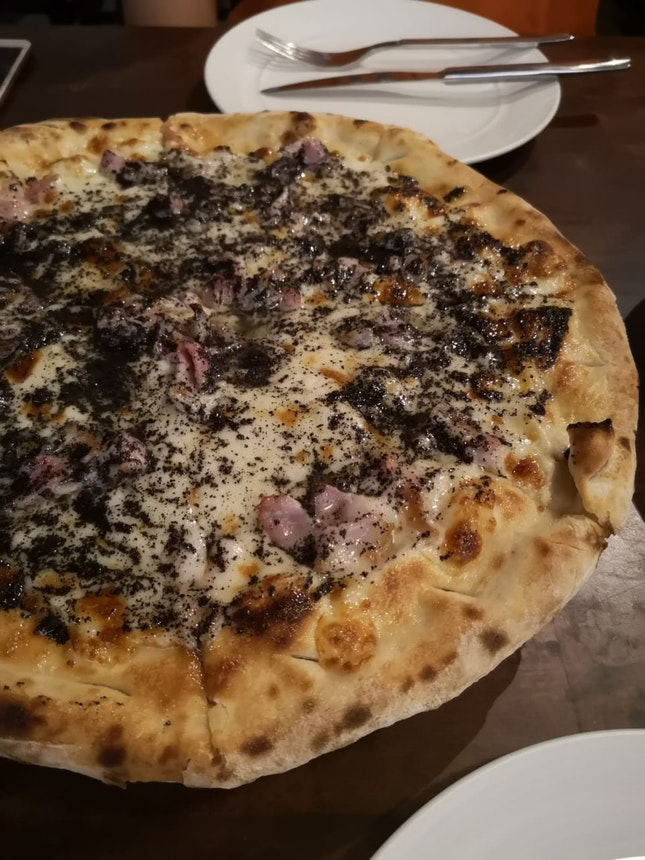 Black Truffle Bacon Pizza
