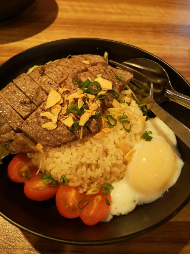 Thai Herb Wagyu Garlic Rice