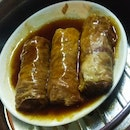 Yam & Pork Belly Rolls