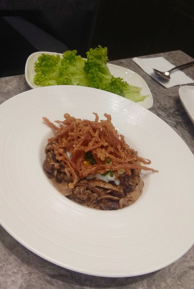 Truffled Mushroom Salad