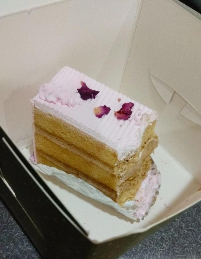 Coffee Rose Latte Cake