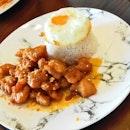 Thai Honey Chicken Rice