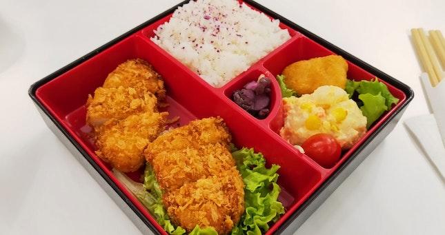 Meat-Free Katsu Curry Bento