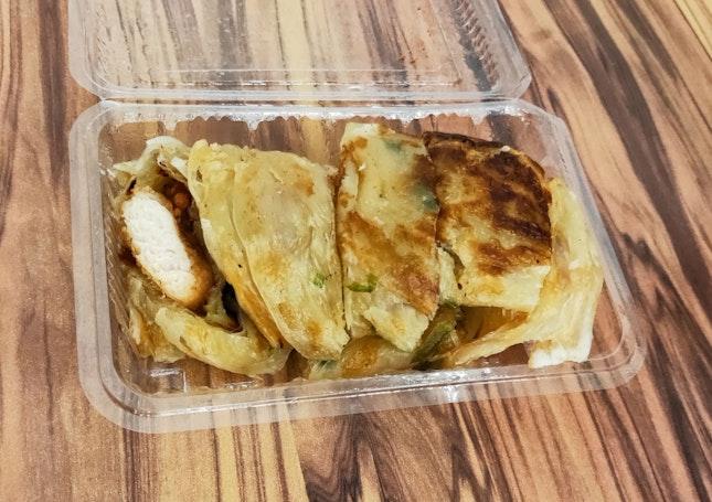Salted Chicken Wrap