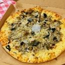 Valenciana Mushroom Pizza