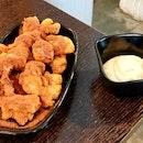 Milo-Coated Popcorn Chicken