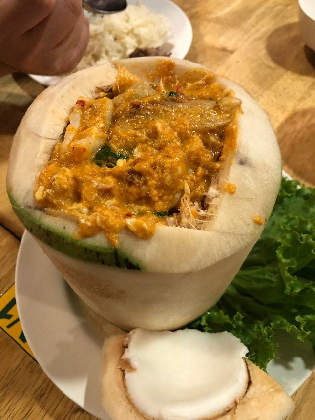 Seafood Coconut