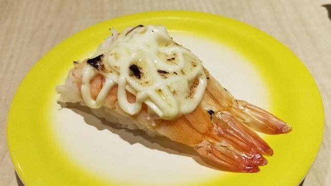 Aburi Cheese Ebi Sushi